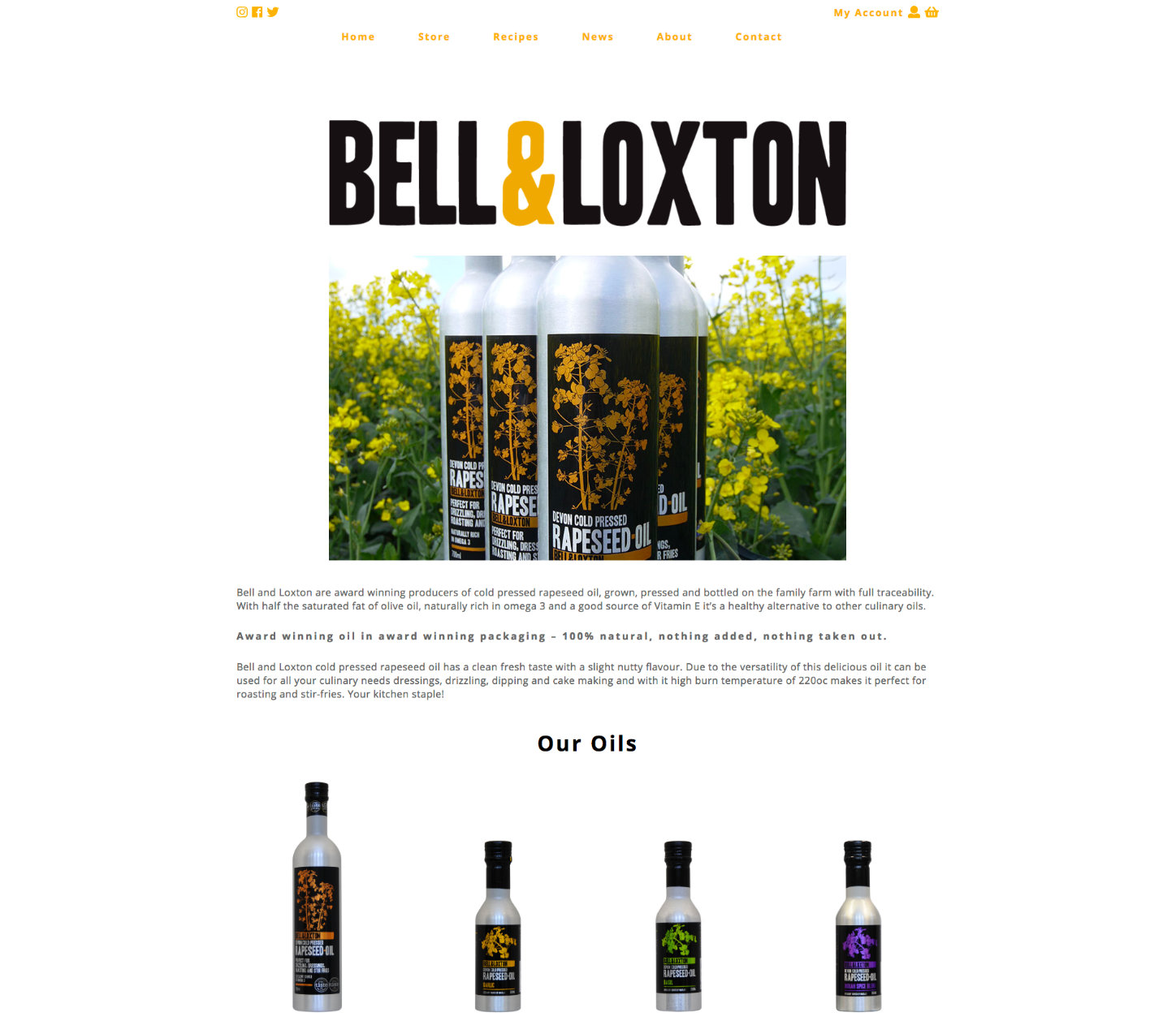 Web Design for Kingsbridge Premium Food Business Bell & Loxton
