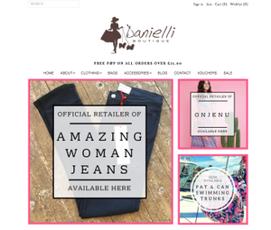 Shopify Theme edits for Darmouth fashion Boutique Danielli