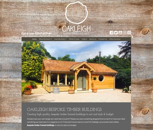 Website Design for Oakleigh Design Build, Kingsbridge