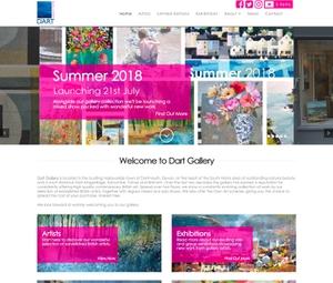Dart Gallery Web Design