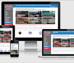 Prodek - Dartmouth Roofing Company Website